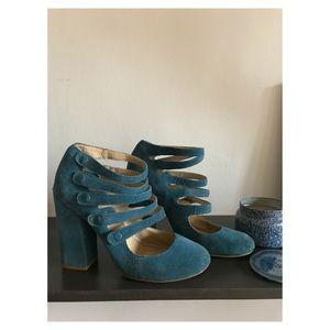 BP Blue Suede Shoes